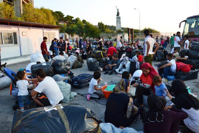 Migranti v řecku | foto: Profimedia