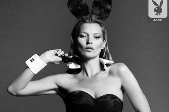 Kate Moss pro Playboy