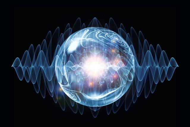 Umělecké znázornění teleportace energie na dálku - ilustrační foto | foto:  iStockphoto/agsandrew