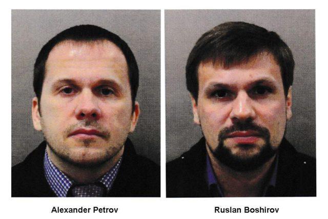 Alexandr Petrov (pravým jménem Alexandr Miškin) a Ruslan Boširov (Anatolij Čepiga)