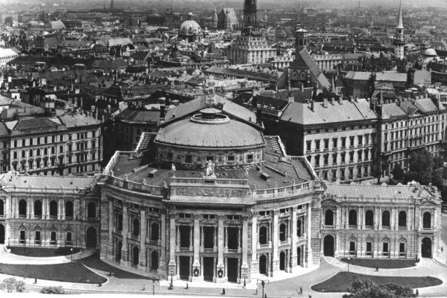 Vídeň-Burgtheater