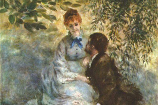 Pierre-Auguste Renoir: Milenci (cca 1880-1890)