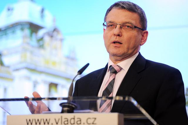 Tisková konference, Úřad vlády,  Lubomír Zaorálek