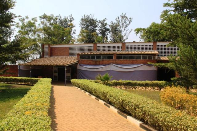 Památník genocidy v Nyamatě, Rwanda