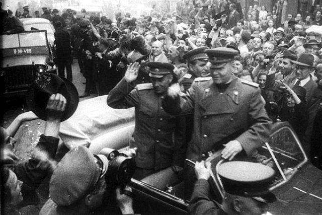 Osvobození Prahy v roce 1945, maršál Ivan Koněv