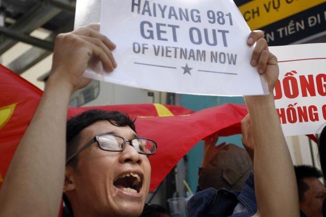 Protičínské protesty v Ho Či Minově Městě