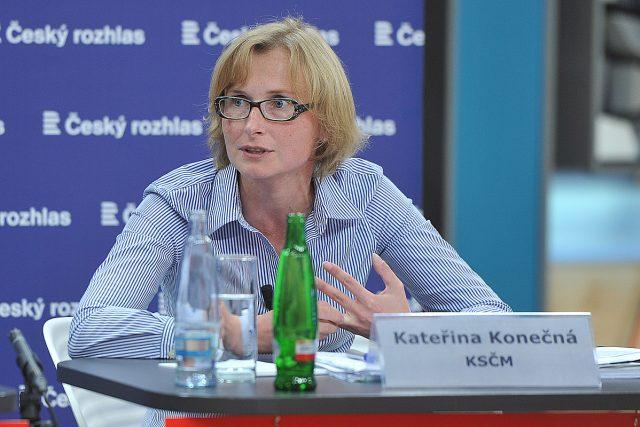 Předvolební speciál Radiožurnálu, Kateřina Konečná