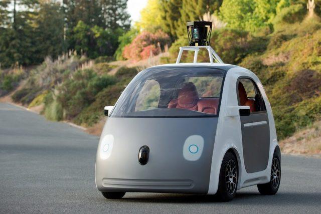 Google vyvíjí auto bez řidiče a bez volantu | foto:  Google