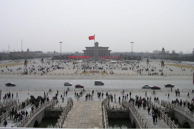Náměstí Tiananmen, Peking, Čína