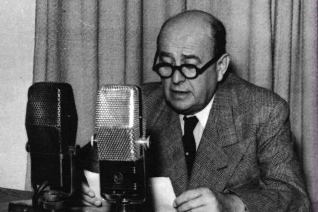 Jan Masaryk | foto: Archivní a programové fondy Českého rozhlasu