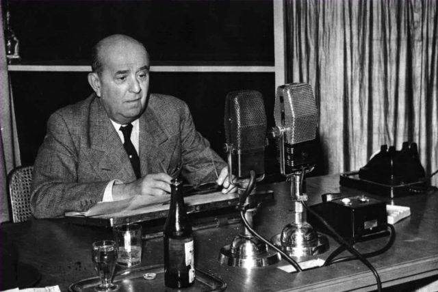 Bývalý ministr zahraničí a syn prvního československého prezidenta Jan Masaryk