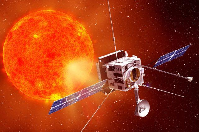 Animace družice Solar Orbiter | foto:  ESA
