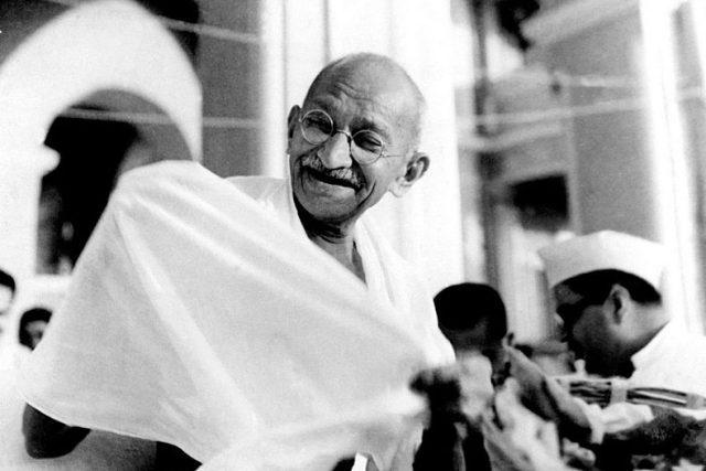 Mahátma Gándhí před rokem 1942