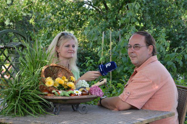 Zelené světy a autoři pořadu Hana Šoberová a Pavel Chlouba
