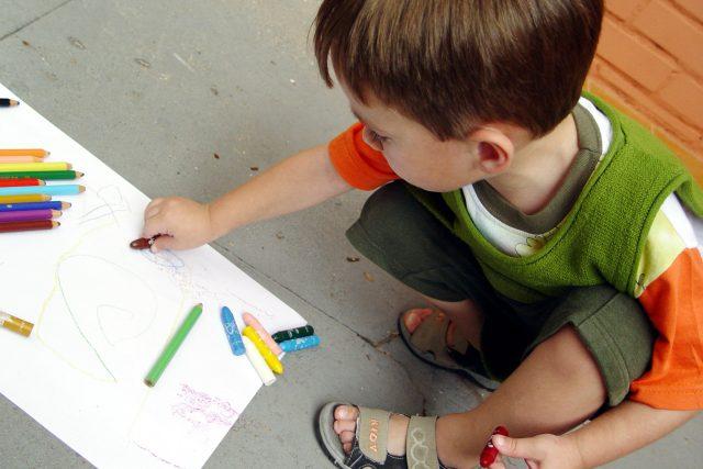 Dítě ve školce. Ilustrační foto | foto: Fotobanka  Stock Exchange