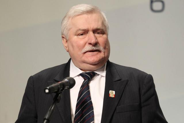 Bývalý polský prezident Lech Walesa