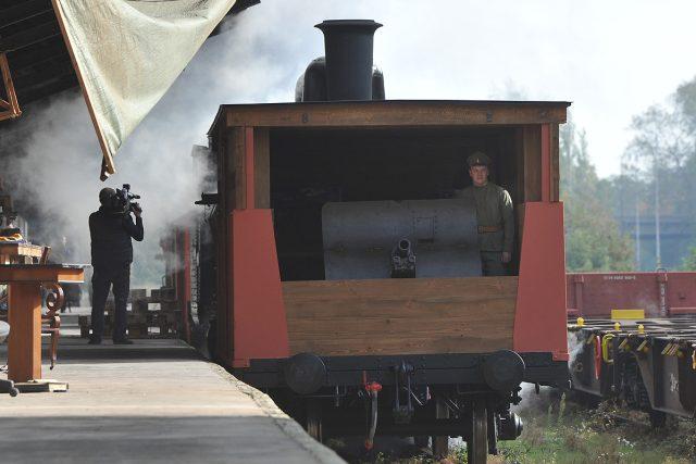 Legionáři, historický vlak