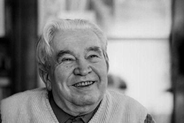 Básník Jaroslav Seifert v roce 1981   foto: Hana Hamplová,   CC BY-SA 3.0