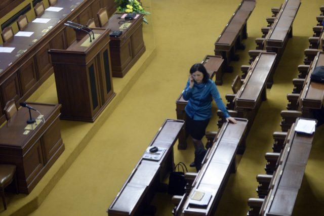 Budoucí česká eurokomisařka Věra Jourová (ANO) se zúčastnila 21. října v Praze jednání Poslanecké sněmovny, na němž složila poslanecký mandát