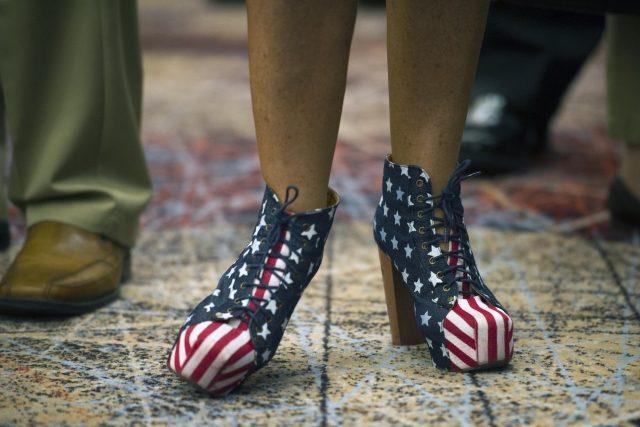 Spojenými státy právě prolétla volební smršť | foto: Cliff Owen,  ČTK