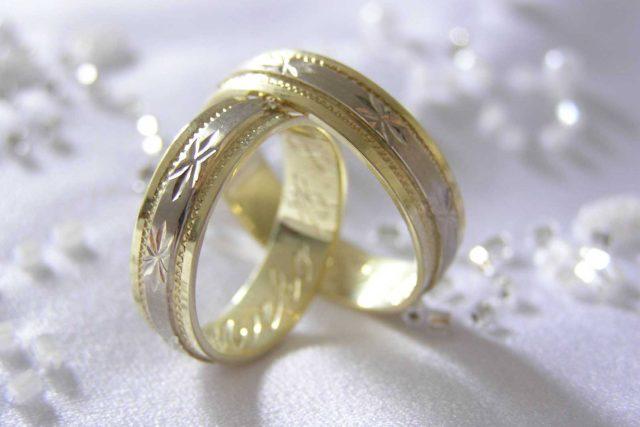 Svatba, prsteny (ilustrační foto)