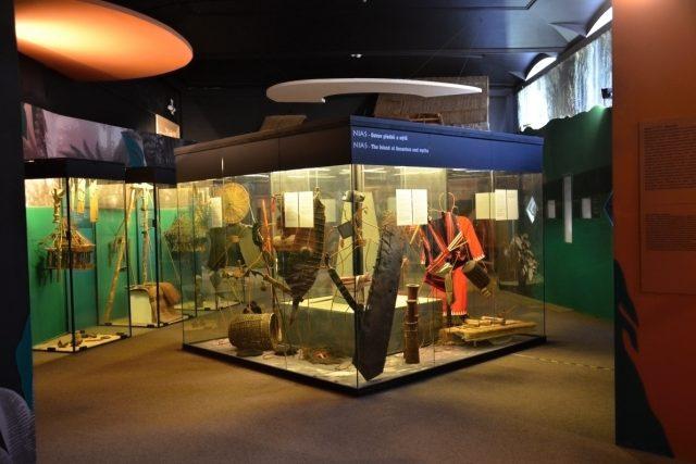 Expozice NIAS - ostrov předků a mýtů