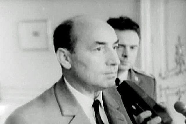 Ing. Oldřich Černík - Československý premiér v letech 1968–1970. Jeden z čelných představitelů československého obrodného procesu ukončeného sovětskou okupací v srpnu 1968