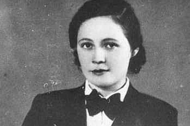 Česká hudební skladatelka Vítězslava Kaprálová v roce 1935