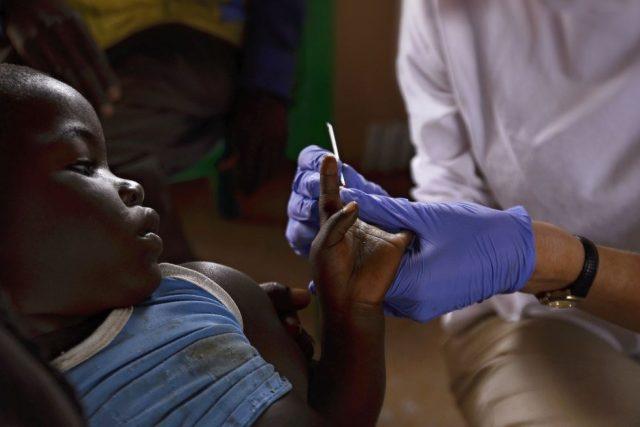 Test na malárii