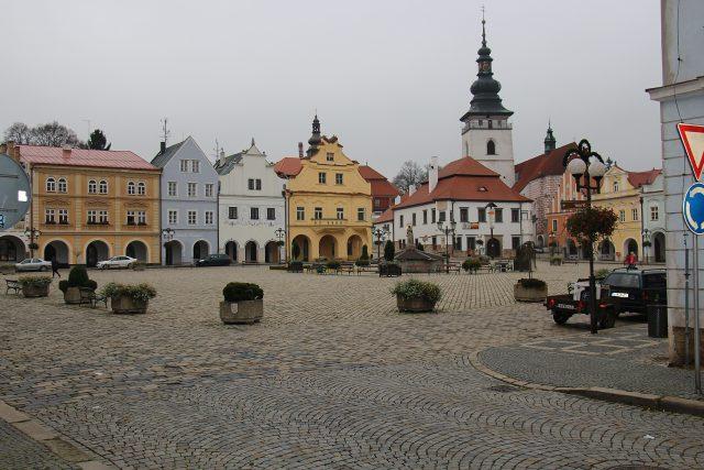 Pelhřimov, náměstí