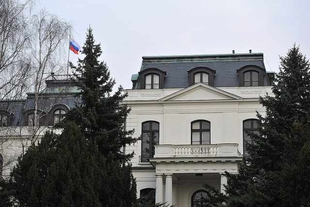 Ruská ambasáda, velvyslanectví