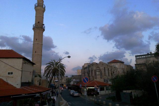 Jediným místem s trochou dávné historie je v Tel Avivu právě Jafa