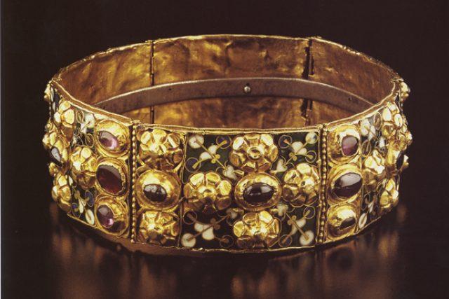 Originál železné koruny Lombardie