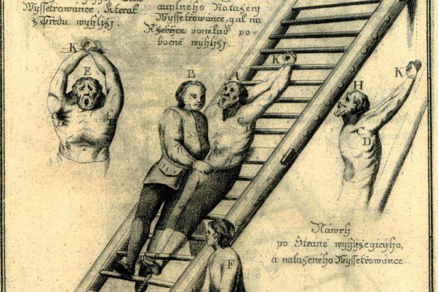 Přesný popis správného postupu při mučení, který ustanovila Marie Terezie