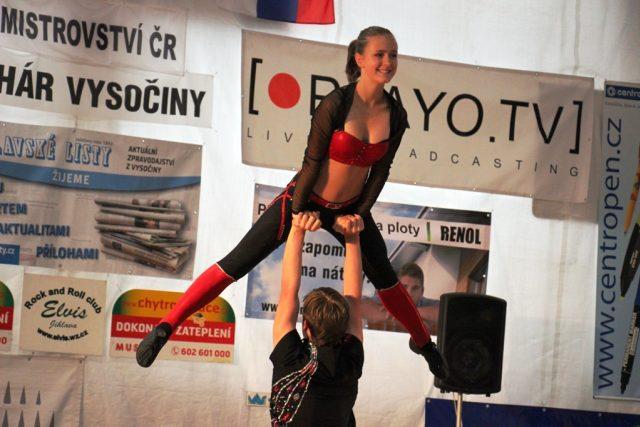 Jihlava hostila mistrovství republiky v akrobatickém rokenrolu