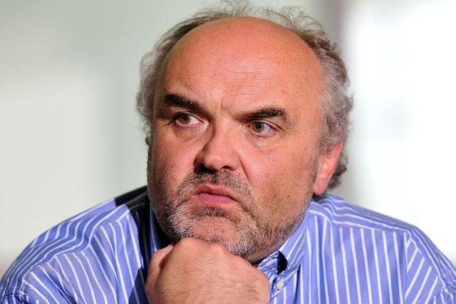 Ředitel Národní galerie Jiří Fajt