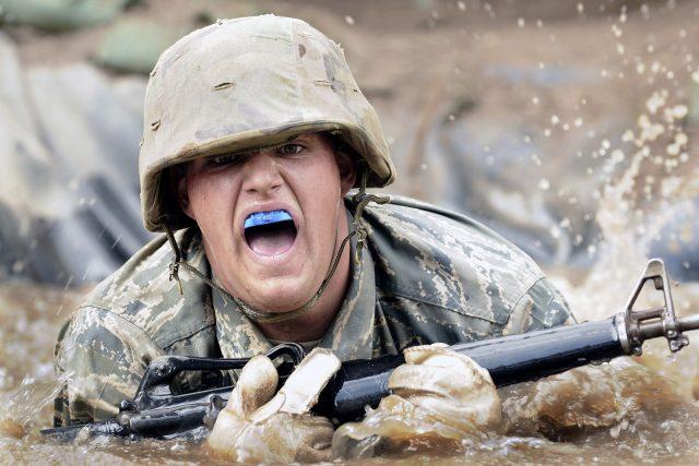 Výcvik amerických vojáků