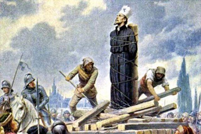 Kamil Vladislav Muttich: Mistr Jan Hus na hranici v Kostnici 1415