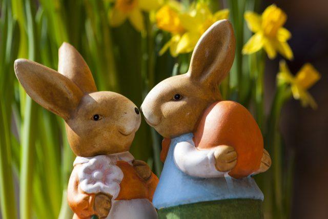 Velikonoční zajíček, Velikonoce (ilustrační foto)