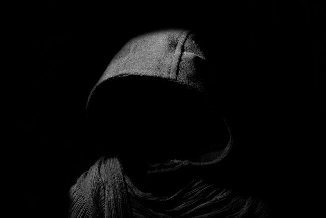Smrt, temnota, duch, démon (islutrační foto)