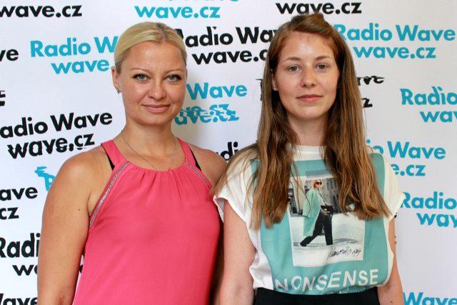 Linda Maruščáková a Nikola Hurychová