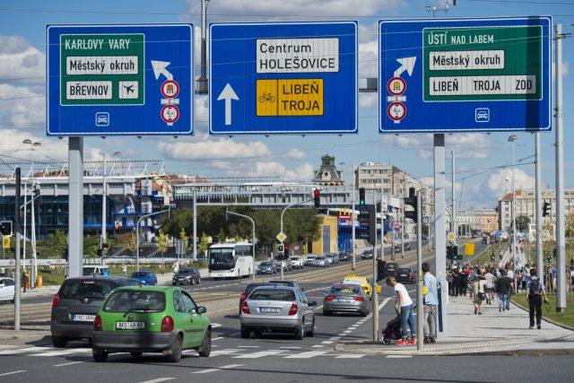Do pražského tunelového komplexu Blanka vjeli v sobotu 19. září první řidiči   foto: ČTK
