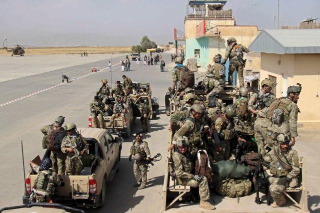 Afghánské speciální síly přijíždějí bojovat proti Tálibánu