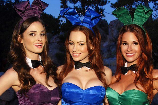 Zajíčci Playboye (výřez z fotografie)