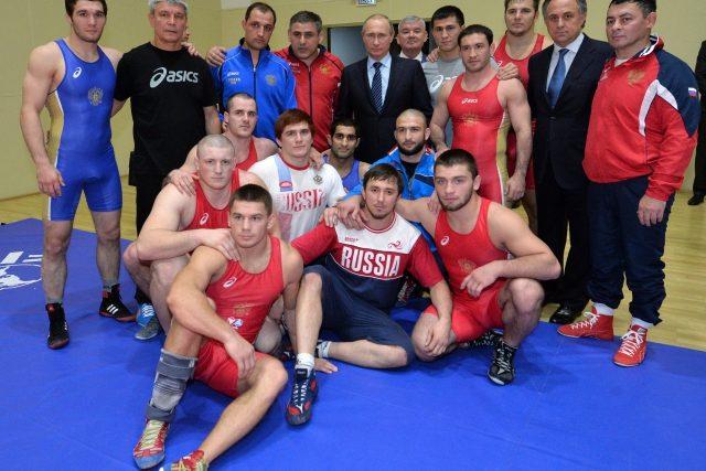"""""""Musíme naše sportovce ochránit před jakýmikoli látkami, škodícími zdraví,"""" řekl ruský prezident"""