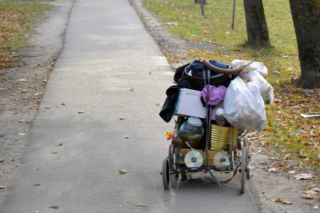 Chudoba. Ilustrační foto