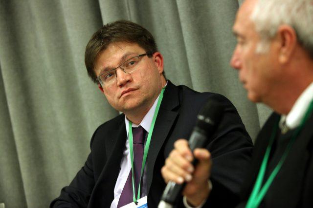 Petr Očko zčeského Ministerstva průmyslu a obchodu