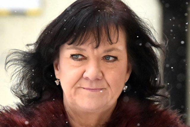 Poslankyně KSČM Marta Semelová