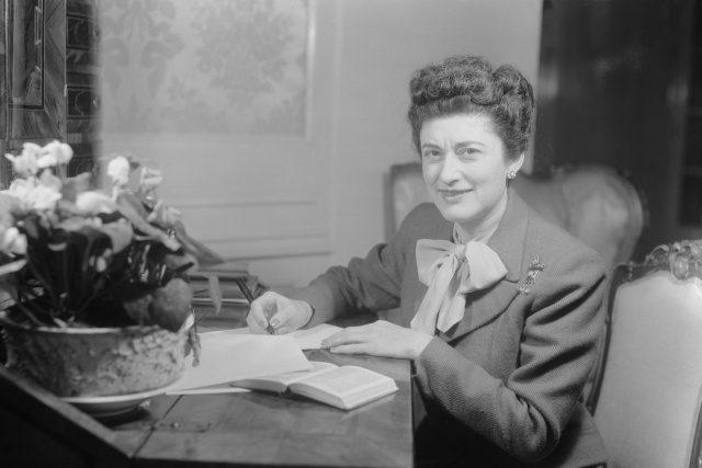 Americká spisovatelka Marcia Davenportová (1903 – 1996)