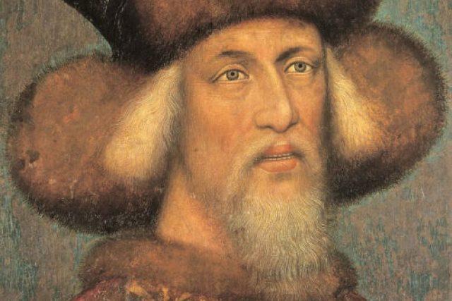 Zikmund Lucemburský v roce 1433, malíř Pisanello 1395 - 1455
